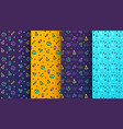 colorful memphis seamless patterns available in vector image vector image