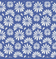 japanese chinese floral seamless pattern vector image vector image