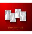 Original 2015 happy new year modern background vector image vector image