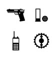 special forces tools hunt simple related vector image