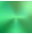 abstract circular green metallic texture vector image vector image