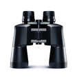 binoculars isolated on white 3d vector image vector image