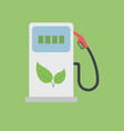 biofuel gas station vector image