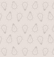 gray background with light bulbs vector image
