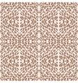 leopard print pattern skin vector image vector image