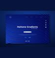 Minimal halftone gradients landing page