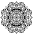 Ornate ornamental mandala vector image