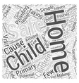 Providing a Safe and Secure Home for your Child vector image vector image