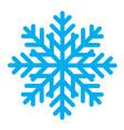 snowflake 04 vector image vector image