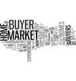 when will it be the buyer s turn text word cloud vector image vector image