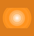yellow orange background central vector image vector image