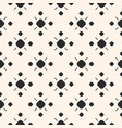 monochrome ornamental seamless pattern vector image vector image