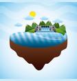 renewable energy clean design vector image vector image