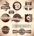 Vintage labels Collection 23 vector image