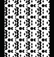 seamless monochrome geometric patterns vector image vector image