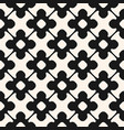 seamless pattern monochrome floral ornamental vector image vector image