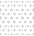 snowflakes pattern background icon vector image