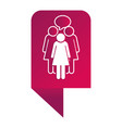 women pictogram cartoon vector image vector image