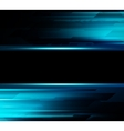 Abstract dark background with blue color light vector image vector image