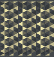 abstract geometric pattern gothic art deco vector image vector image