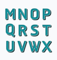 Alphabet set type fonts set dot colour style