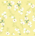bright magnolia seamless pattern vector image vector image
