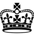 Crown of Britain icon vector image