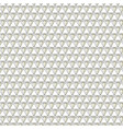 diamond jewels background pattern on white vector image vector image