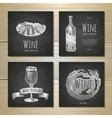 et art wine banners and labels design vector image vector image