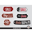 Exclusive Sale Tags Labels vector image vector image