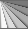 overlapping grey paper sheets arranged in a fan vector image vector image