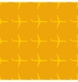 Seamless pattern with flat styled plane vector image vector image