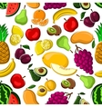Sweet and juicy fruits seamless pattern