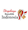 template background or banner dirgahayu that mean