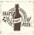 Brewery logo design vector image vector image