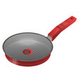 griddle pan icon isometric style vector image
