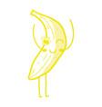 kawaii cute happy banana fruit