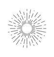 rays sun vector image