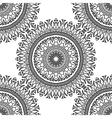 Seamless pattern Mandala with decorative ornament vector image vector image