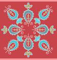 simple hand drawn mandala fancy paisley elements vector image vector image