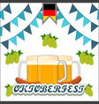the holiday oktoberfest vector image vector image