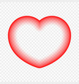 abstract heart on a transparent background vector image