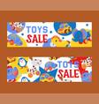 clockwork bright mechanic children toys shop sale vector image vector image