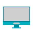 computer screen hardware symbol vector image vector image