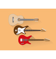 Guitars vector image vector image