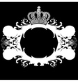 ornate heraldic deco vector image