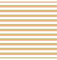 seamless green orange red thin stripe vector image vector image