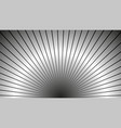 sun rays background gray radiate sun beam burst vector image vector image