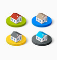 real estate isometric vector image