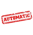 Automatic rubber stamp vector image vector image